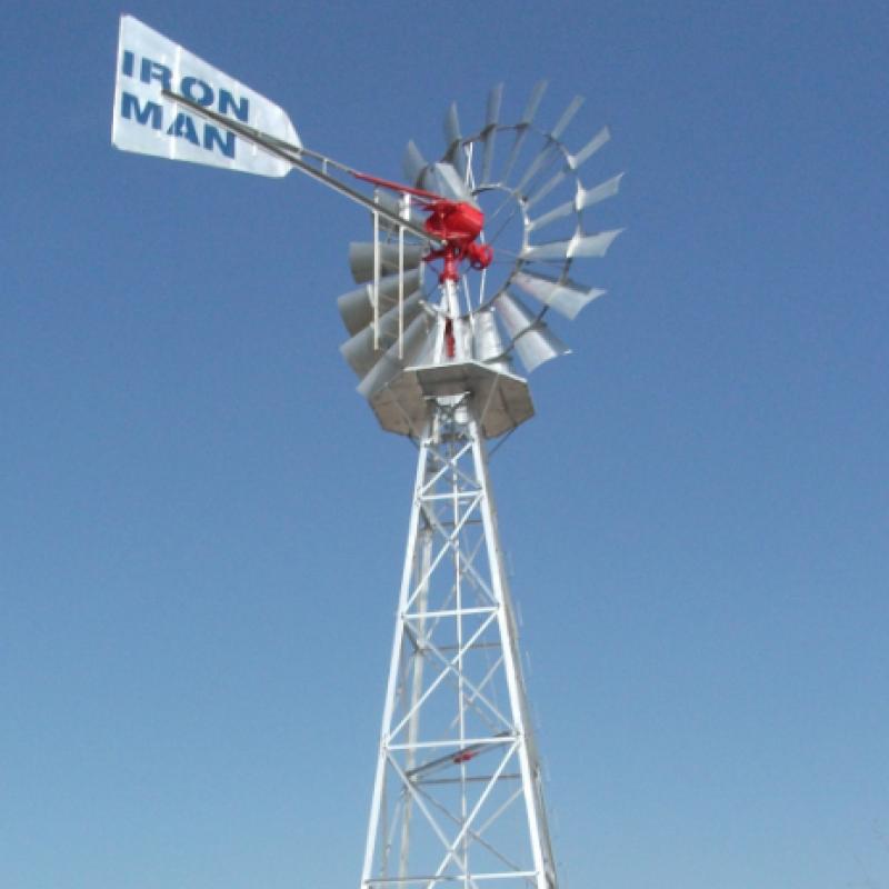 6米风力泵水机